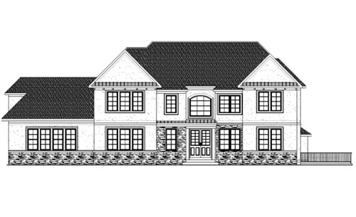 custom home from triumph builders